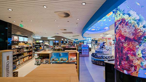 Aelia Duty Free Now Open