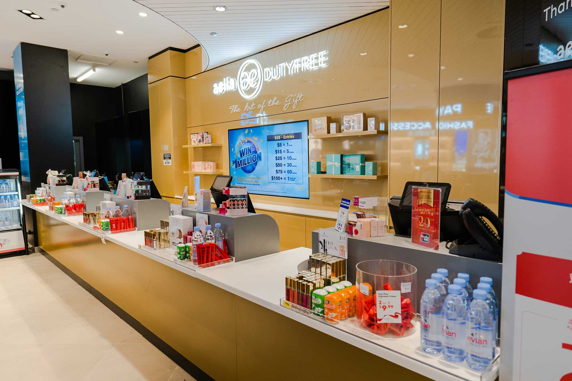 Aelia Duty Free Photography – Cairns Airport