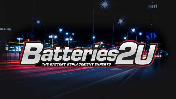 Batteries 2U Logo Design