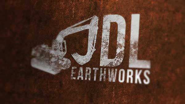 JDL Earthworks Logo Design