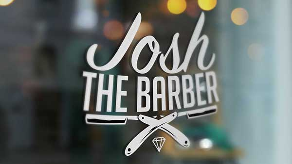 Josh the barber Cairns Logo