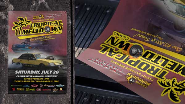 Tropical Meltdown Flyer Cairns