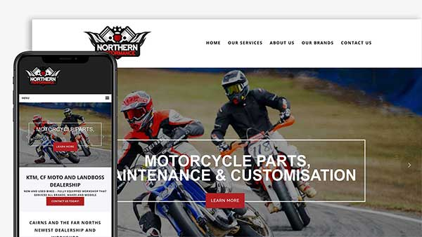 Northern Performance Website