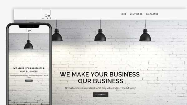 Paragon Collective Website Design