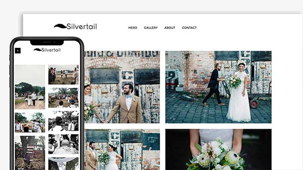Silvertail Photography Website