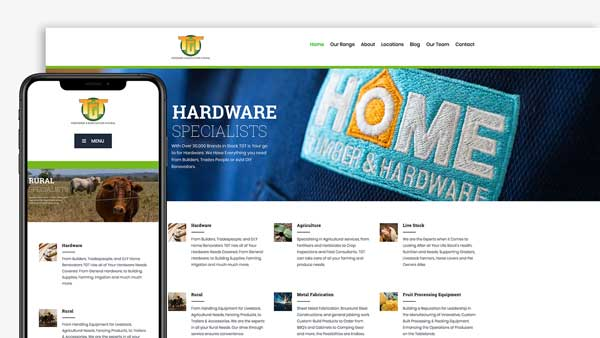 TGT Website Design Mareeba