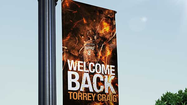 Torrey Craig Welcome Back Cairns