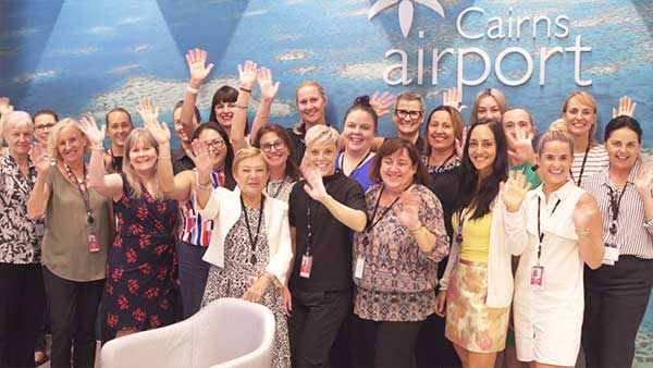 International Womens Day - Cairns Airport