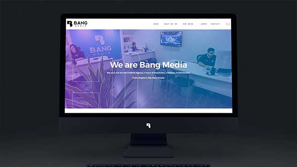 Bang Media Website Promotional Video
