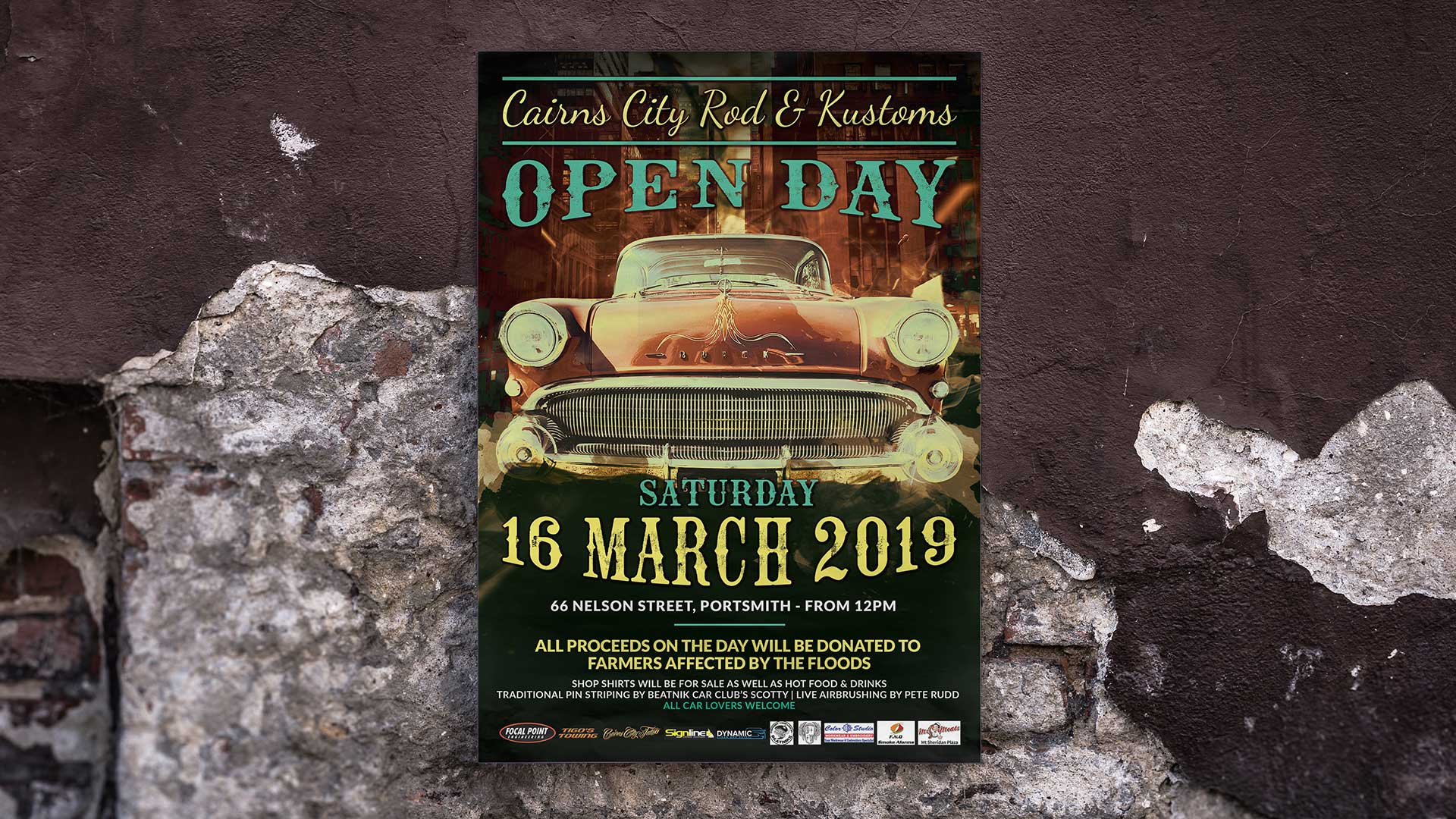 Cairns City Rod Poster