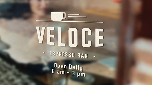 Veloce Espresso Bar Logo