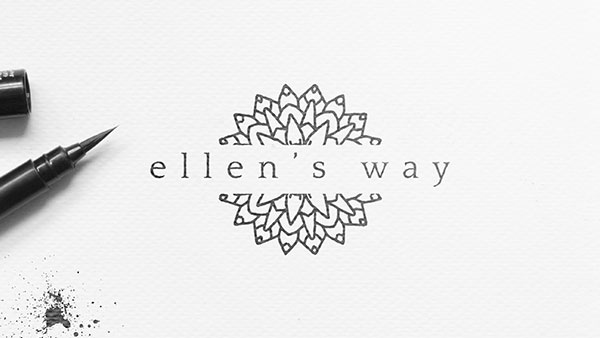 Ellen's Way Logo Design