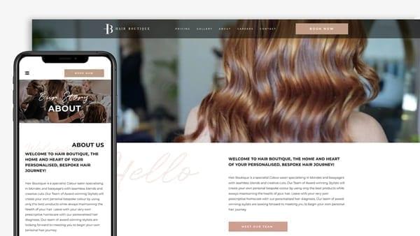 Hair-Boutique-Website