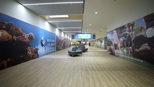 cairns airport T2 upgrade